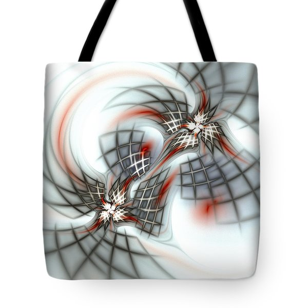 Birds And Cages Tote Bag by Anastasiya Malakhova