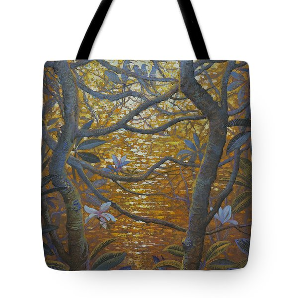 Birds And Light Tote Bag