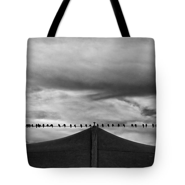 Tote Bag featuring the photograph Birds by Bob Orsillo