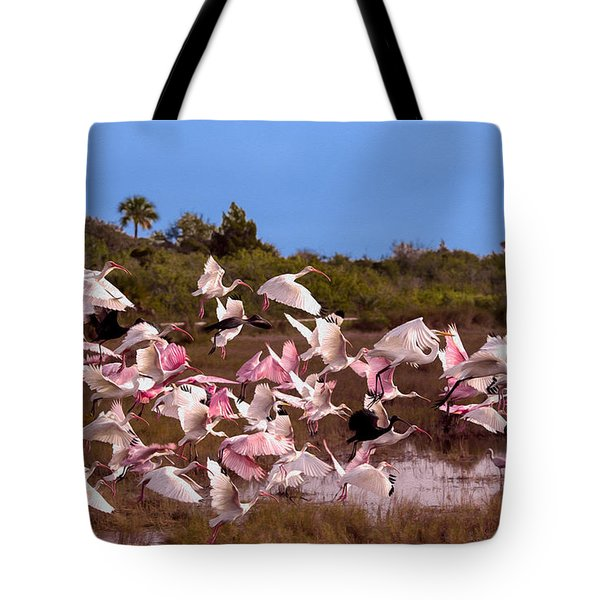 Birds Call To Flight Tote Bag