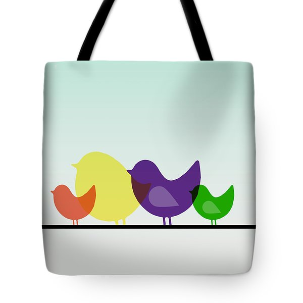 Birds  Tote Bag by Mark Ashkenazi