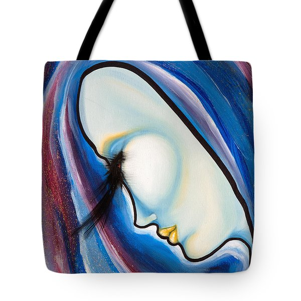 Birds Of A Feather 3 Tote Bag by Sheridan Furrer