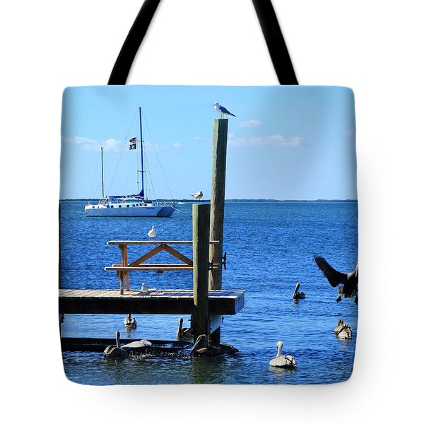 Birds Of Key Largo Tote Bag