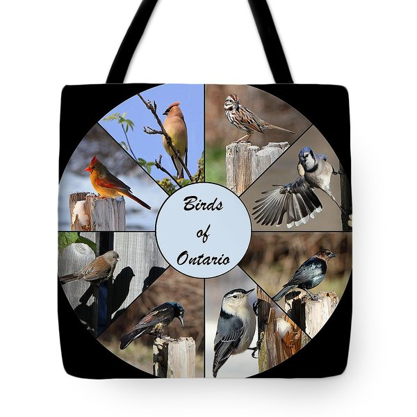 Birds Of Ontario Tote Bag