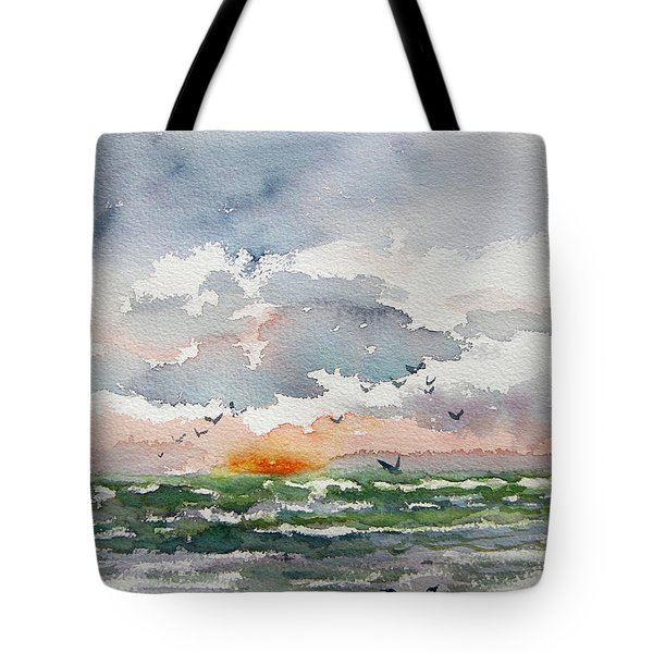 Birds Rising IIi Tote Bag