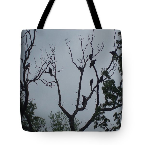 Tote Bag featuring the photograph Birds by Fortunate Findings Shirley Dickerson