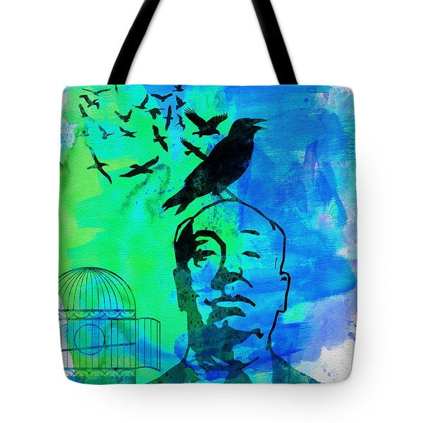 Birds Watercolor Tote Bag