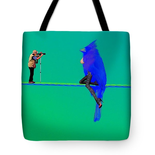 Birdwatcher Tote Bag