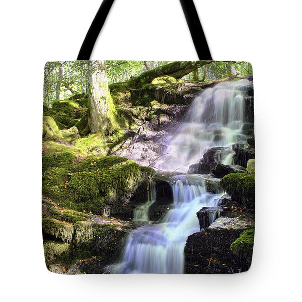 Birks Of Aberfeldy Cascading Waterfall - Scotland Tote Bag