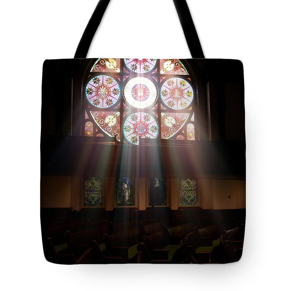 Birmingham Stained Glass Tote Bag