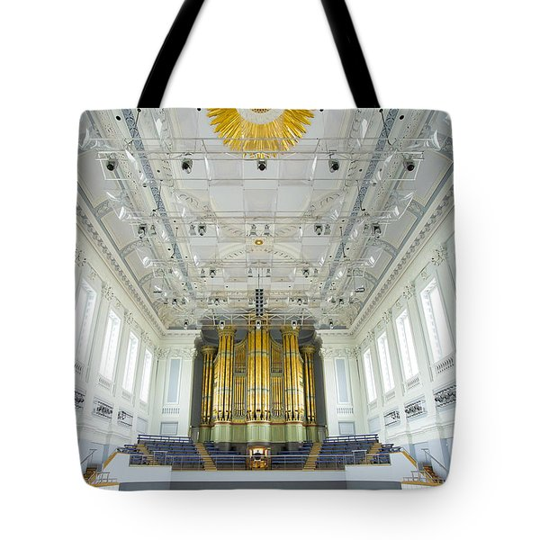 Birmingham Town Hall Tote Bag