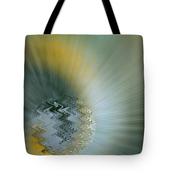 Tote Bag featuring the digital art Birth Of A New World by Roy Erickson