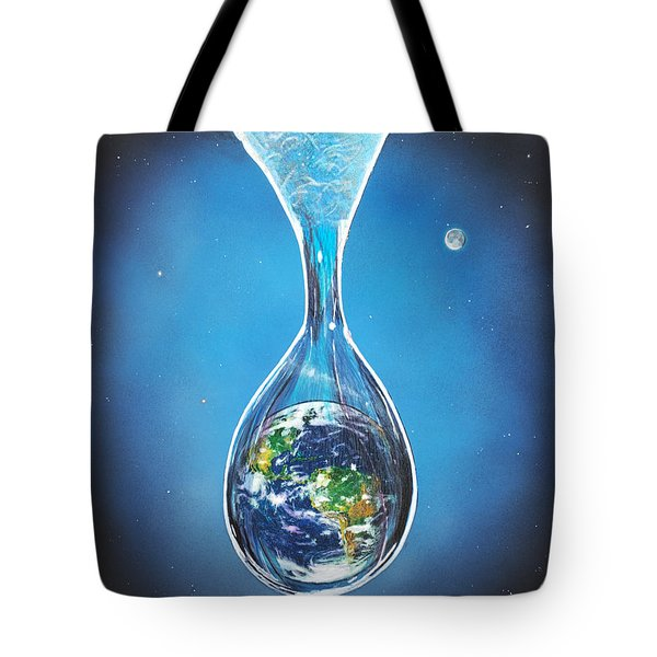Birth Of Earth Tote Bag