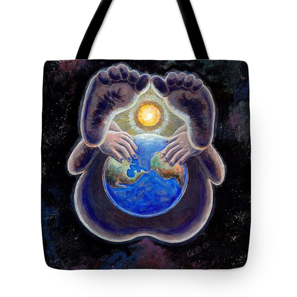Birth Of The Earth Tote Bag