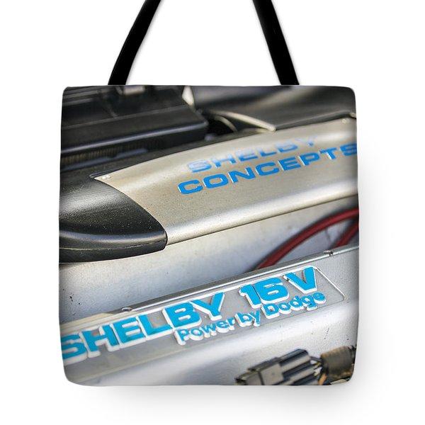 Birthday Car - Engine Bay Tote Bag