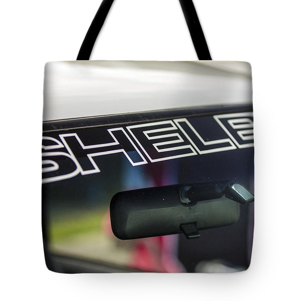 Birthday Car - Shelby Windshield Tote Bag