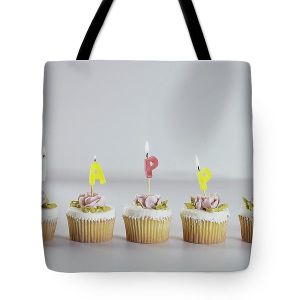Birthday Cupcakes Tote Bag
