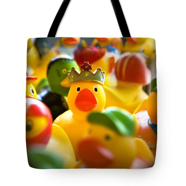 Birthday Ducks Tote Bag