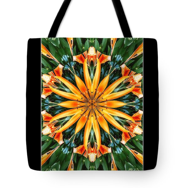 Birthday Lily For Erin Tote Bag by Nick Heap