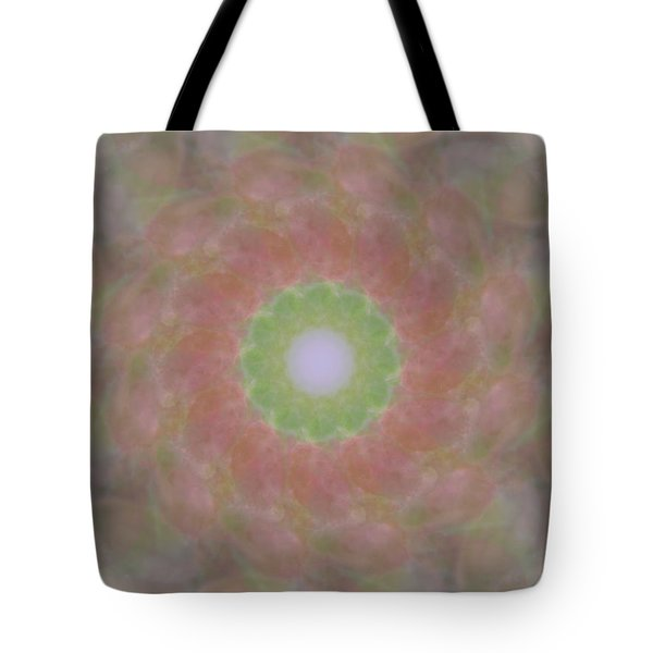 Birthing Mandala 1 Tote Bag by Rhonda Barrett