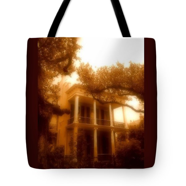 Birthplace Of A Vampire In New Orleans, Louisiana Tote Bag
