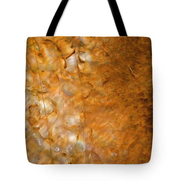 Biscuit Basin Bacterial Mat Tote Bag by Bruce Gourley