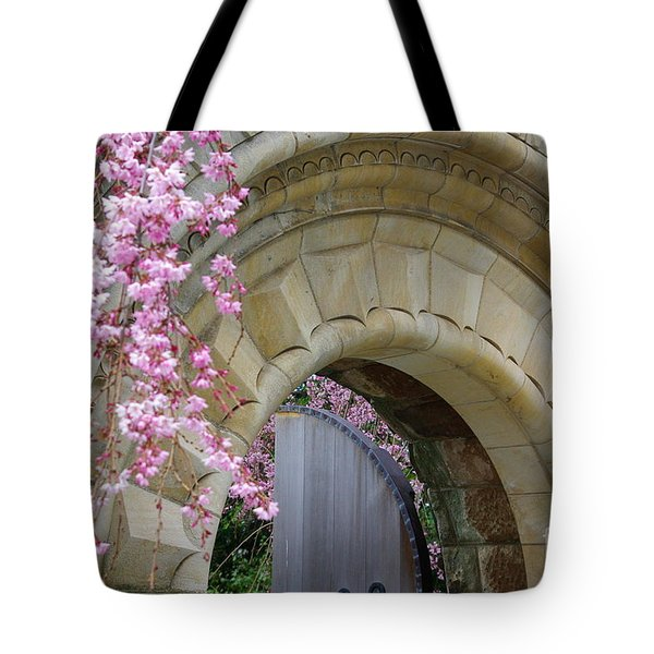 Tote Bag featuring the photograph Bishop's Gate by John S