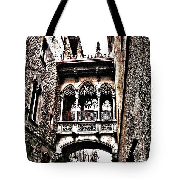 Bishop's Street - Barcelona Tote Bag
