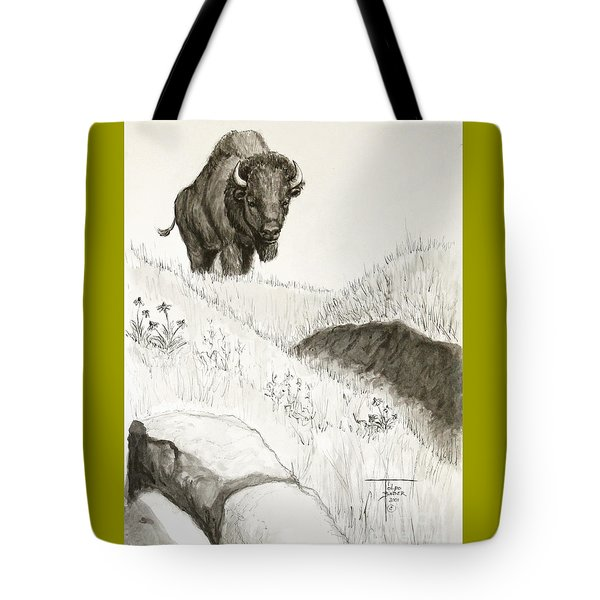 Bison Approach Tote Bag