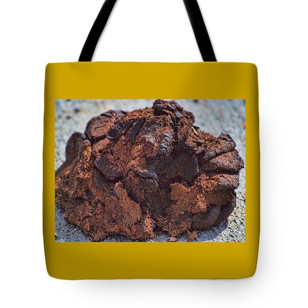 Bison Dung - The Pillow Tote Bag