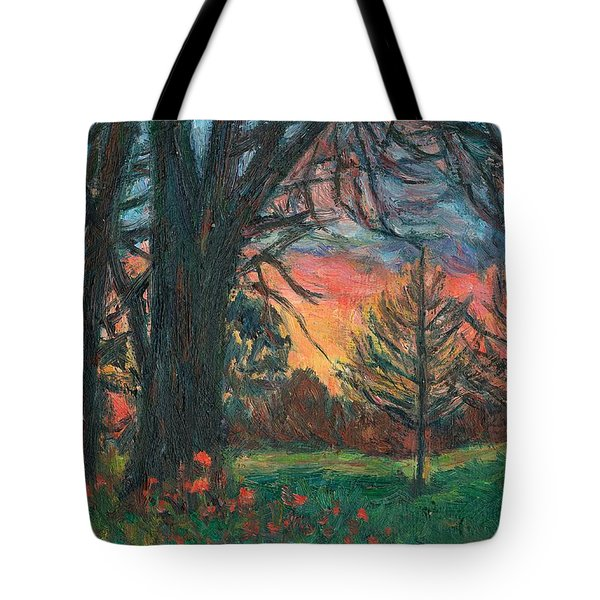 Bisset Park Sunrise Tote Bag by Kendall Kessler