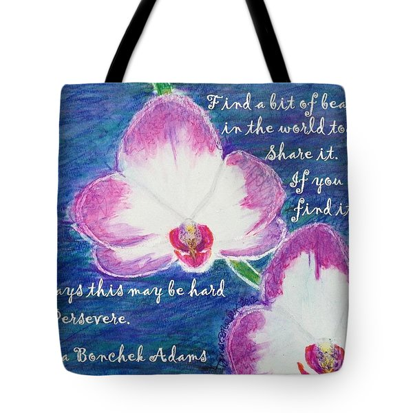 Bit Of Beauty For Lisa Tote Bag
