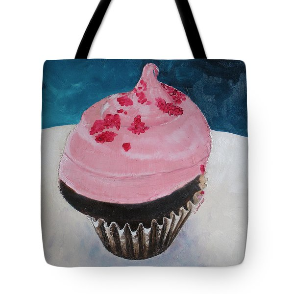 Bite Me Tote Bag by Claudia Goodell