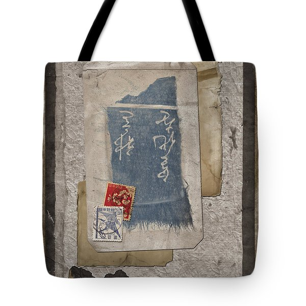 Bits And Pieces Tote Bag by Carol Leigh