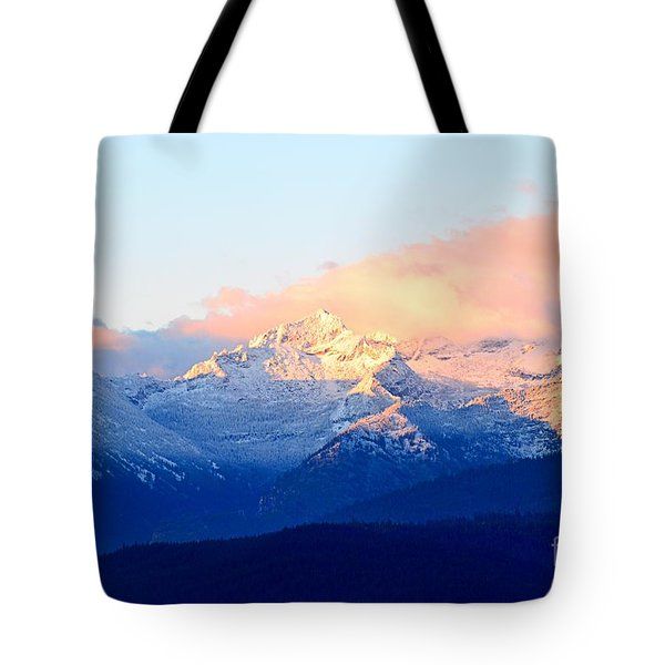 Bitterroot Mountains Montana Tote Bag by Joseph J Stevens