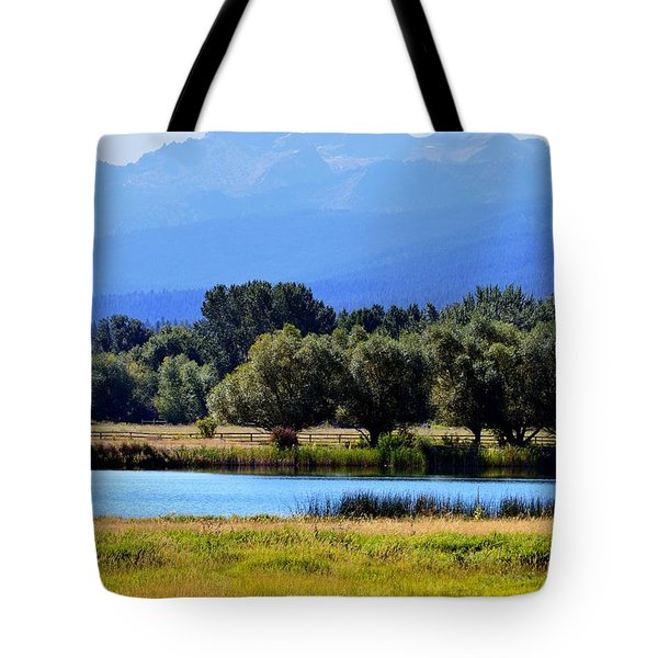 Tote Bag featuring the photograph Bitterroot Valley Montana by Joseph J Stevens