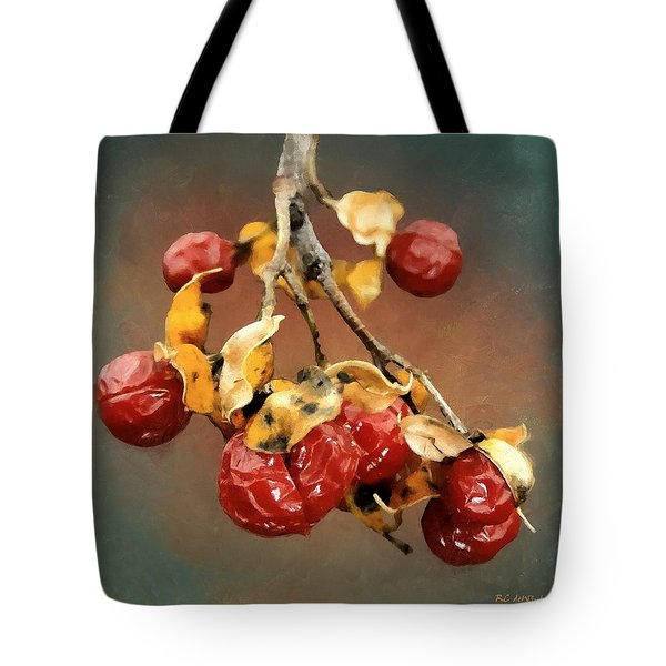 Bittersweet Memories Tote Bag by RC DeWinter