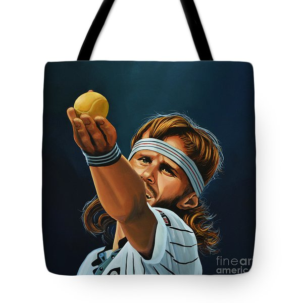 Bjorn Borg Tote Bag by Paul Meijering
