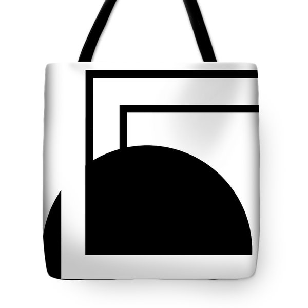 Black And White Art - 127 Tote Bag by Ely Arsha