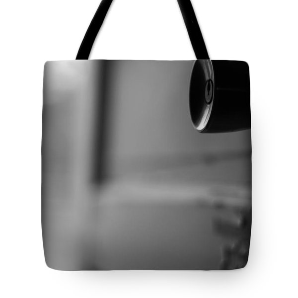 Black And White Door Handle Tote Bag by Dan Sproul