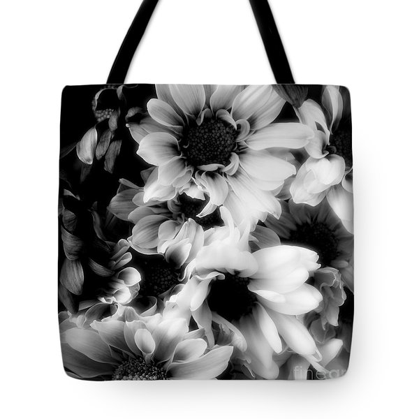 Black And White Tote Bag by Kathleen Struckle