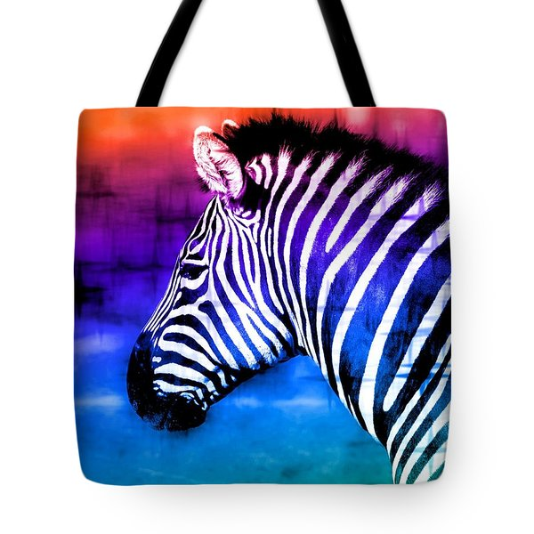 Black And White Or Color? Tote Bag by Elizabeth Budd