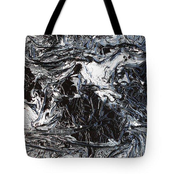 Black And White Series 3 Tote Bag