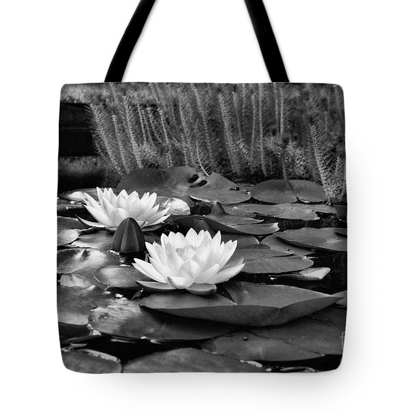 Black And White Version Tote Bag by John S