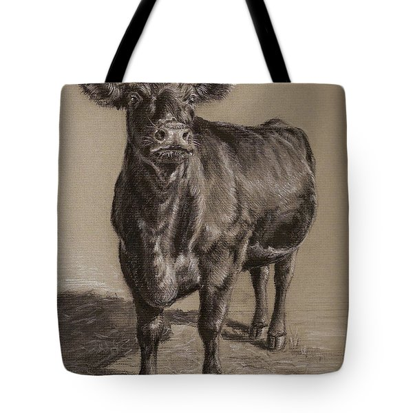 Black Angus Cow 1 Tote Bag
