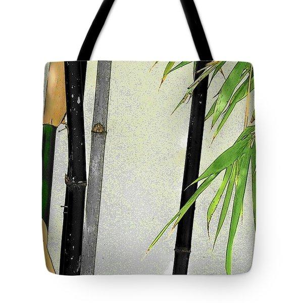 Black Bamboo Sarasota IIi Tote Bag