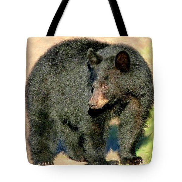 Black Bear 3 Tote Bag by Will Borden