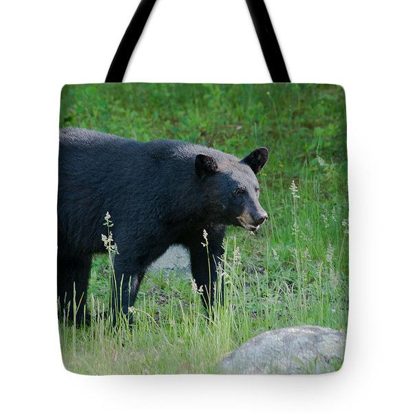Black Bear Female Tote Bag