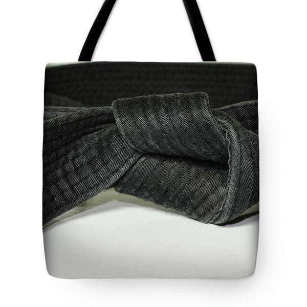 Black Belt Tote Bag by Paul Ward