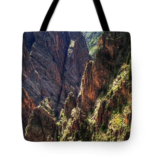 Black Canyon Of The Gunnison National Park I Tote Bag